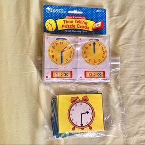 Telling time cards bundle